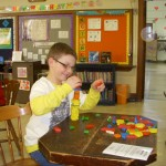 Pattern Block Stacking