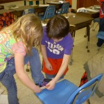 Measuring our feet to the nearest inch