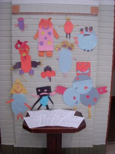 """Our """"Monster Friends"""" and Informational Reports"""