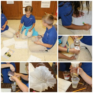 Making water filters